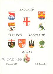 ENGLAND, IRELAND, SCOTLAND, WALES, BOOKS, MANUSCRIPTS AND DOCUMENTS RELATING TO, OR PRINTED IN...