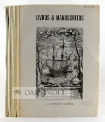 [COLLECTION OF NINE SALES CATALOGUES FROM J.A. TELLES DA SYLVA]