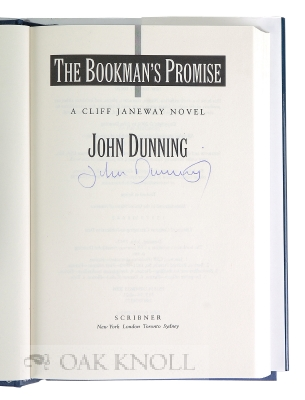 THE BOOKMAN'S PROMISE.