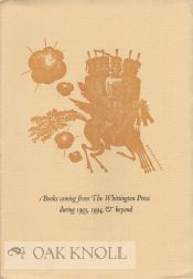 BOOKS COMING FROM THE WHITTINGTON PRESS DURING 1993, 1994, & BEYOND