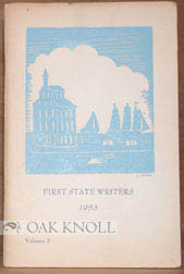 FIRST STATE WRITERS, 1953. Jeannette Slocomb Edwards, Irvin C. Kreemer, Anne Evans Clendaniel.