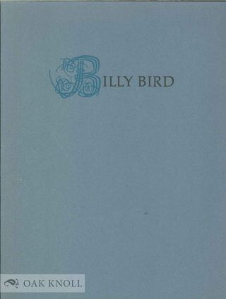 THE ADVENTURES OF BILLY BIRD. Ruthmae Anderson