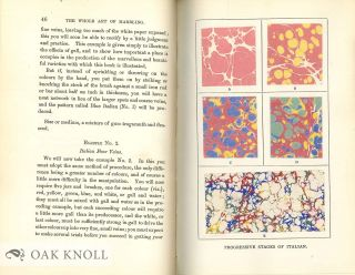 THE WHOLE ART OF MARBLING AS APPLIED TO PAPER, BOOK-EDGES, ETC.
