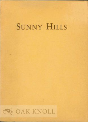 SUNNY HILLS, PRE-SCHOOL, KINDERGARTEN, ELEMENTARY GRADES FOR GIRLS AND BOYS