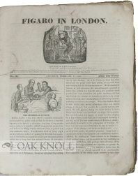 Runs of two 19th-century periodicals: FIGARO IN LONDON & THE LITERARY GUARDIAN AND SPECTATOR OF BOOKS, SCIENCE, FINE ARTS, ETC.