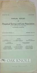 ANNUAL REPORT OF PERPETUAL SAVINGS AND LOAN ASSOCIATION.