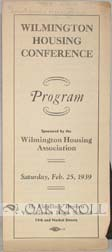 WILMINGTON HOUSING CONFERENCE PROGRAM