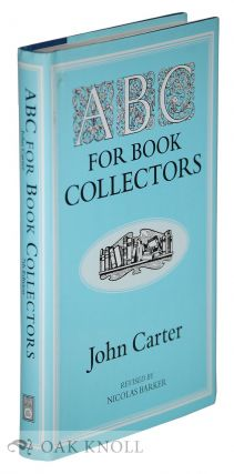 ABC FOR BOOK COLLECTORS. 7TH ED. (U.S.). John Carter
