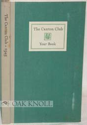 THE CAXTON CLUB YEARBOOK.