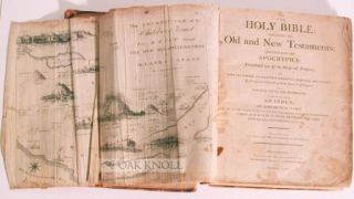 HOLY BIBLE: CONTAINING THE OLD AND NEW TESTAMENTS: TOGETHER WITH THE APOCRYPHA: EMBELLISHED WITH TEN MAPS, AND TWENTY HISTORICAL ENGRAVINGS.