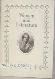 WOMEN AND LITERATURE