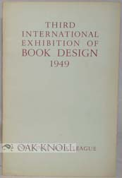 THIRD INTERNATIONAL EXHIBITION OF BOOK DESIGN 1949