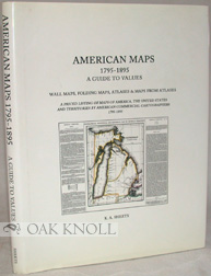 AMERICAN MAPS 1795-1895. K. A.93 Sheets