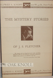 THE MYSTERY STORIES OF J.S. FLETCHER.