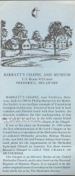 BARRATT'S CHAPEL AND MUSEUM