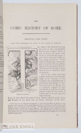 THE COMIC HISTORY OF ROME.