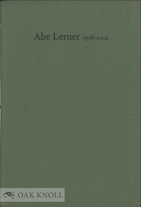 ABE LERNER 1908-2002. Kit Currie