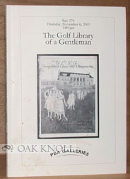 THE GOLF LIBRARY OF A GENTLEMAN