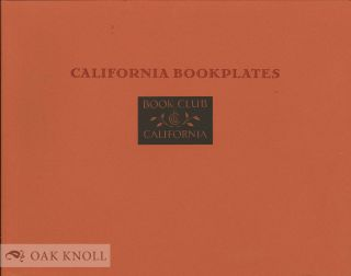 CALIFORNIA BOOKPLATES. Robert Dickover.