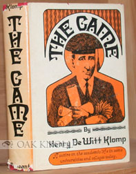 THE GAME. Henry DeWitt Klomp