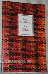 SANDY MACPHERSON; BOOK COLLECTOR. Newman Levy