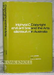 COPYRIGHT AND THE ARTS IN AUSTRALIA