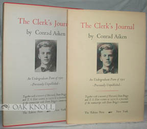 THE CLERK'S JOURNAL. Conrad Aiken