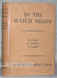IN THE WATCH BELOW. Hartley Kemball Cook