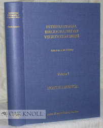 INTERNATIONAL BIBLIOGRAPHY OF VEGETATION MAPS. VOLUME 1. NORTH AMERICA