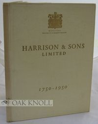 HARRISON, A FAMILY IMPRINT
