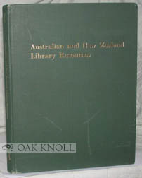AUSTRALIAN AND NEW ZEALAND LIBRARY RESOURCES. Robert B. Downs