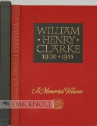 WILLIAM HENRY CLARKE, 1902-1955