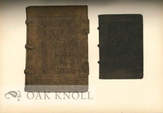 EXHIBITION OF BOOKBINDINGS.
