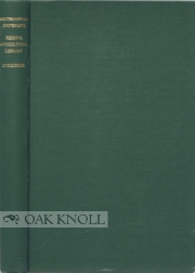 CATALOGUE OF THE WALTER FRANK PERKINS AGRICULTURAL LIBRARY