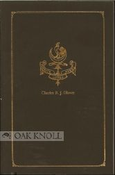 CATALOGUE OF THE CHARLES R.J. GLOVER LIBRARY RELATING TO AUSTRALIA, NEW GUINEA, NEW ZEALAND AND...