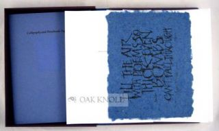 CALLIGRAPHY AND HANDMADE PAPER.
