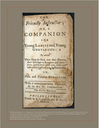 """THE GOOD EDUCATION OF YOUTH"": WORLDS OF LEARNING IN THE AGE OF FRANKLIN."