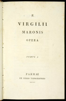 A CATALOGUE OF THE JUNIUS SPENCER MORGAN COLLECTION OF VIRGIL IN THE PRINCETON UNIVERSITY LIBRARY.