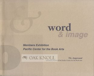 WORD & IMAGE, MEMBERS BOOK EXHIBITION