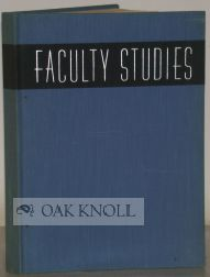 FACULTY STUDIES