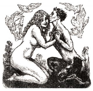THE FANFROLICO PRESS: SATYRS, FAUNS AND FINE BOOKS.