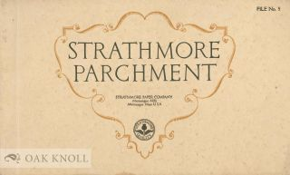 STRATHMORE PARCHMENT. Strathmore
