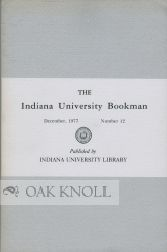 THE INDIANA UNIVERSITY BOOKMAN