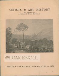 ARTISTS & ART HISTORY, A COLLECTION OF BOOKS & CATALOGUES DEALING WITH ALL SCHOOLS &...