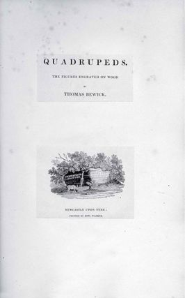 THOMAS BEWICK, THE COMPLETE ILLUSTRATIVE WORK