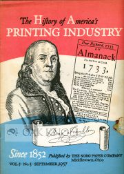 THE HISTORY OF AMERICA'S PRINTING INDUSTRY