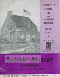 KINDERGARTEN PRIMARY ART AND EDUCATIONAL MATERIALS, SCHOOL SUPPLIES, CATALOG NO. E-89A
