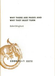 WHY THERE ARE PAGES AND WHY THEY MUST TURN.
