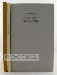 THE HALF OF A CIRCLE. David Jaffin