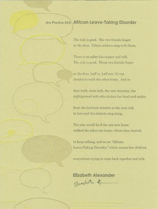 CENTER BROADSIDES 2005 READING SERIES.